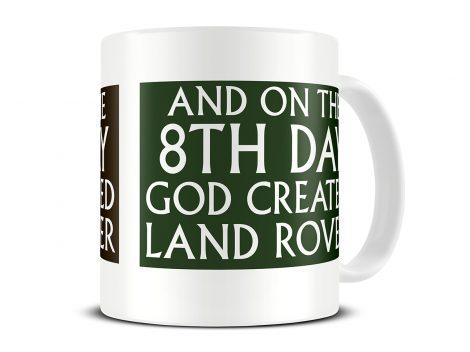 land rover mug