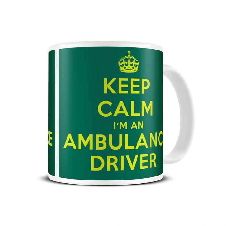ambulance driver mug