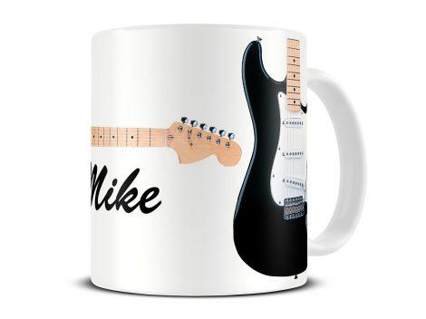 fender stratocaster guitar mug