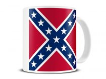 confederate flag mug