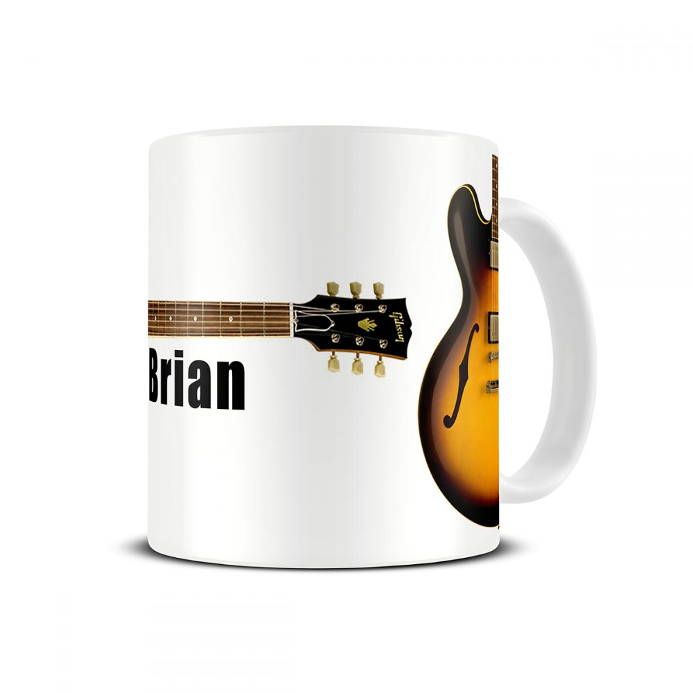 gibson es guitar mug
