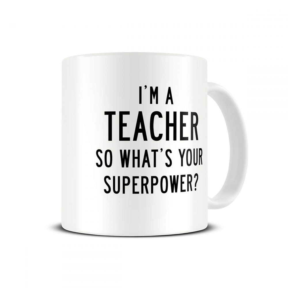 superpower-teacher-mug