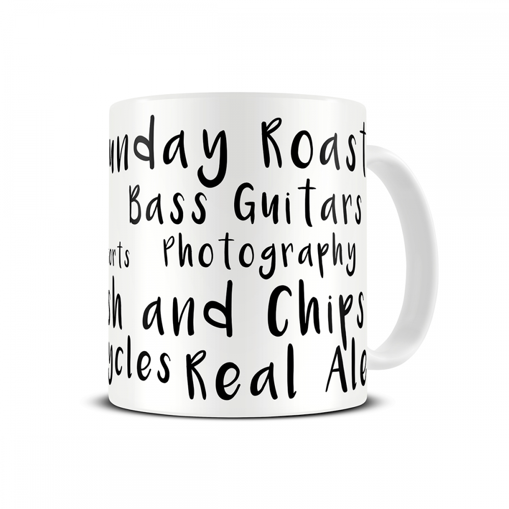 favourite-things-personalised-mug