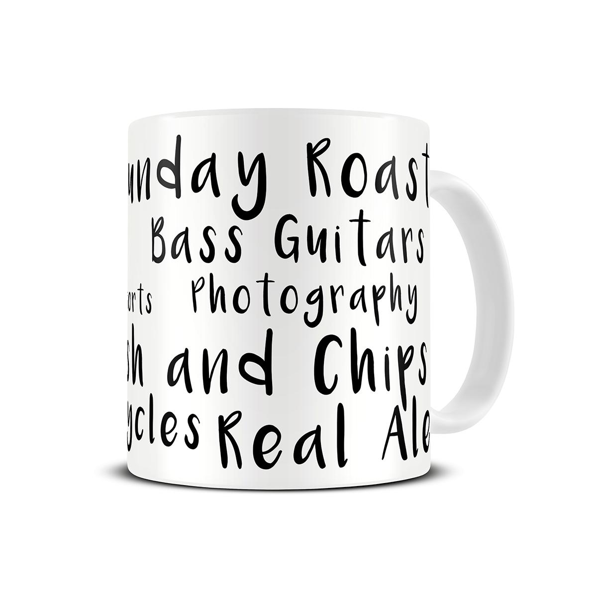 favourite-things-personalised-mug