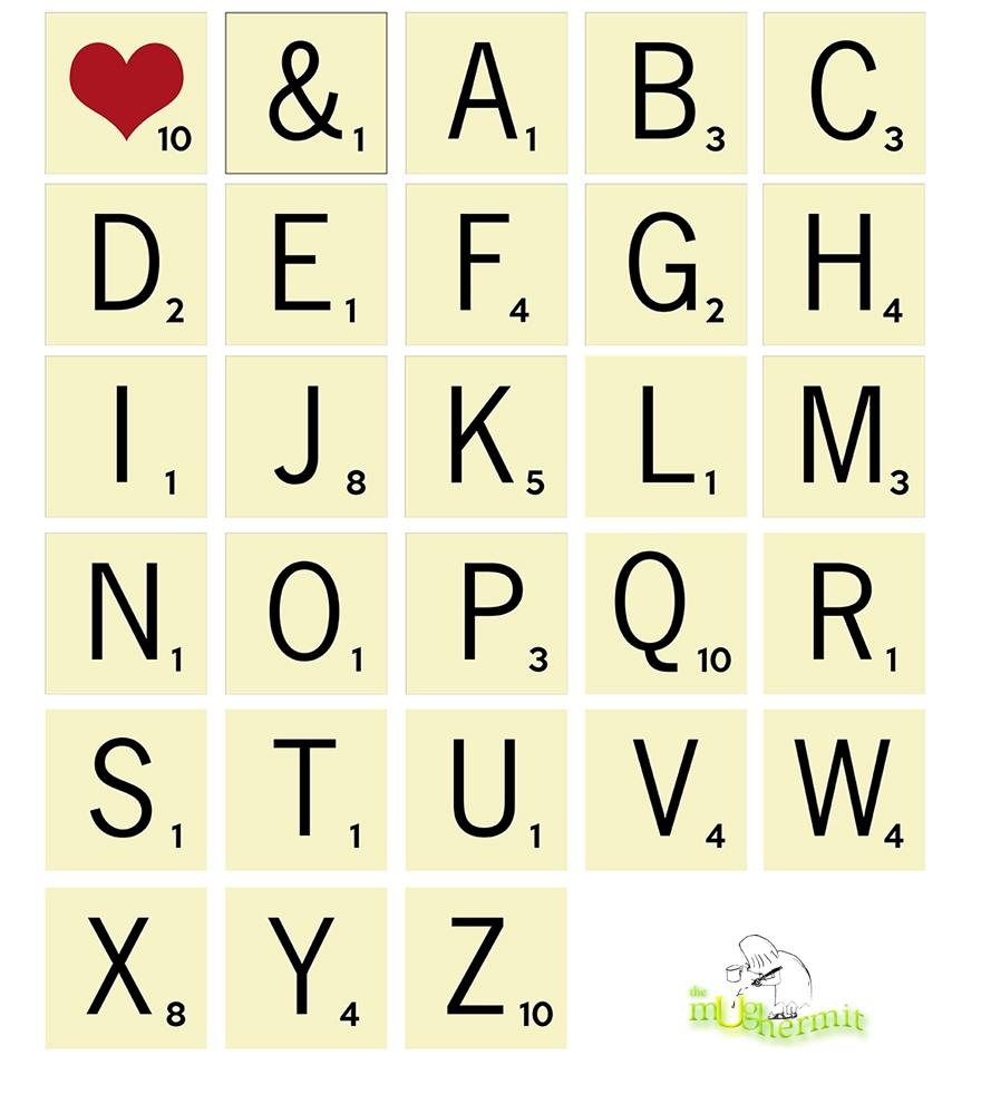 scrabble-letter-tile-initial-coaster set