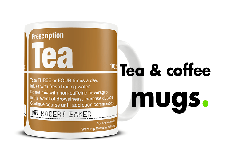 Tea and Coffee Lover Mugs